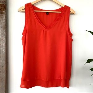 Ann Taylor tank top with v-neck